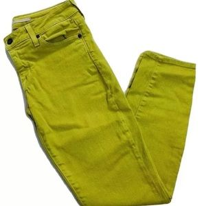 VINCE Neon Skinny Jeans